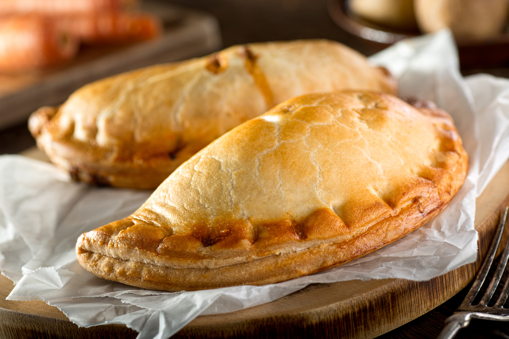A pasty from the Firestone Kitchen